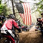 Port Angeles Downhill Action, Steve Smith Qualifies Fastest