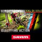 QUALIFYING ACTION From the 2013 Val di Sole World Cup