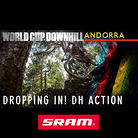 DROPPING IN! Action from the Andorra World Cup