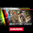QUALIFYING CHAOS: Andorra World Cup Downhill Slideshow