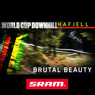 BRUTAL BEAUTY: Hafjell World Cup DH Action