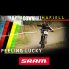 FEELING LUCKY: Hafjell World Cup Downhill Qualifying