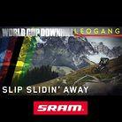 SLIP SLIDIN' AWAY: Leogang World Cup DH Action