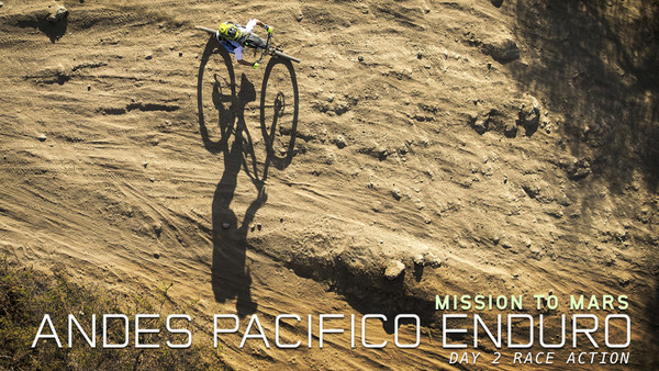 MTB Mission to Mars - Andes Pacifico Day 2 Race Action