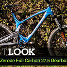Zerode's Prototype Full Carbon 27.5 Gearbox Trail Bike