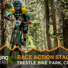 Enduro World Series Race Action - Stages 1 - 2 from Trestle Bike Park
