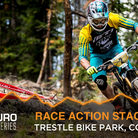 Enduro World Series Race Action - Stages 3 - 5 from Trestle Bike Park