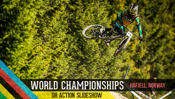 World Championship Downhill Action from Hafjell