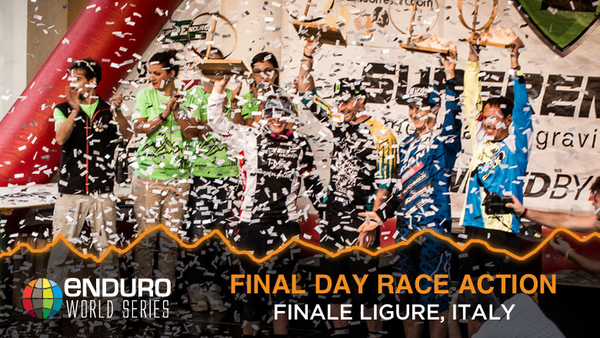 Enduro World Series Finale Ligure, Italy Day 2 Finals Slideshow