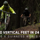 100,000 Vertical Feet in 24 Hours - World Record Mountain Bike Descent on Mount 7
