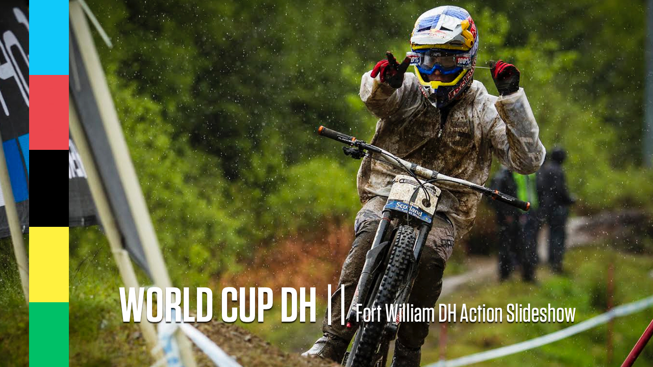 FORT WILLIAM WORLD CUP DH ACTION SLIDESHOW