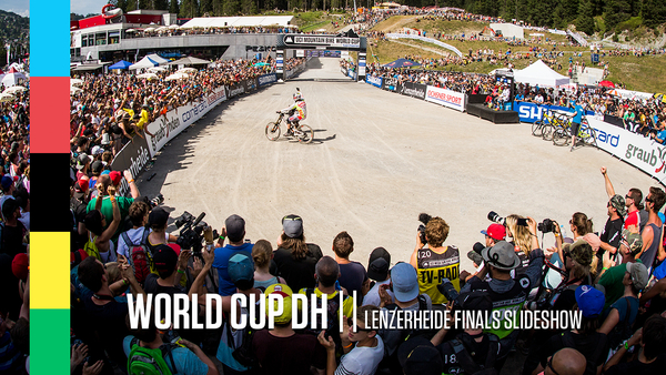 Minnaar Wins His 18th World Cup Downhill - Lenzerheide Action Slideshow