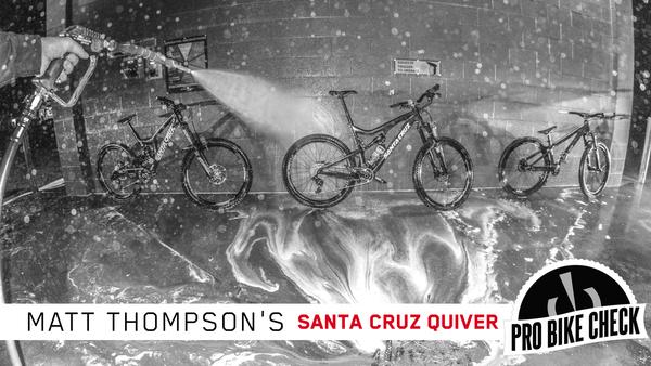Pro Bike Check: Matt Thompson's Santa Cruz Quiver