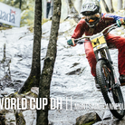 Mont Sainte Anne World Cup Downhill Qualifying