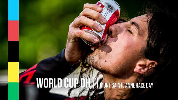 Mont Sainte Anne World Cup Downhill Race Day Slideshow