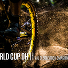 Rock Smashing Slideshow - Val di Sole World Cup DH Action