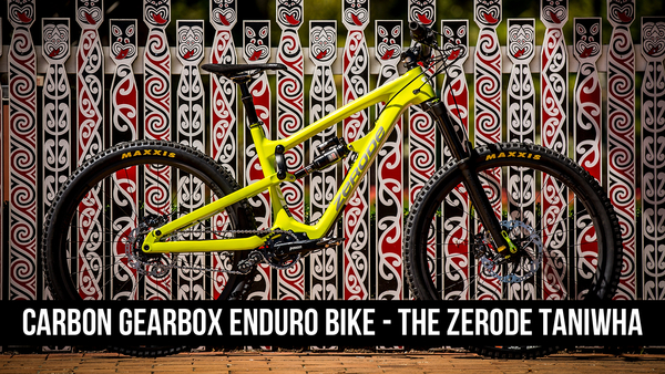 Carbon Enduro Gearbox Bike - The Zerode Taniwha