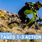 Enduro World Series Race Action from Argentina, Stages 1-3