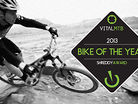 2013 Bike of the Year, Vital MTB Shreddy Awards
