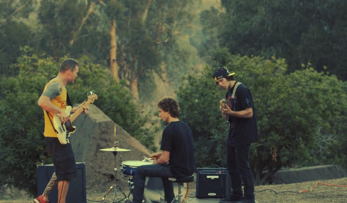 Cam McCaul vs Rage Against the Machine Bassist in a Dirt Jump Trick Off!
