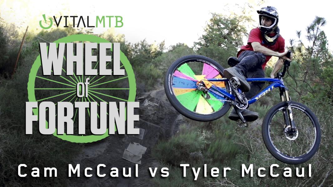 Cam McCaul vs Tyler McCaul - Vital MTB's Wheel of Fortune