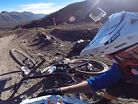 Josh Carlson's High-Speed, Race-Ending Crash at Enduro World Series, Chile