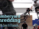Lumberyard Shredding - Levi and Friends in Portland