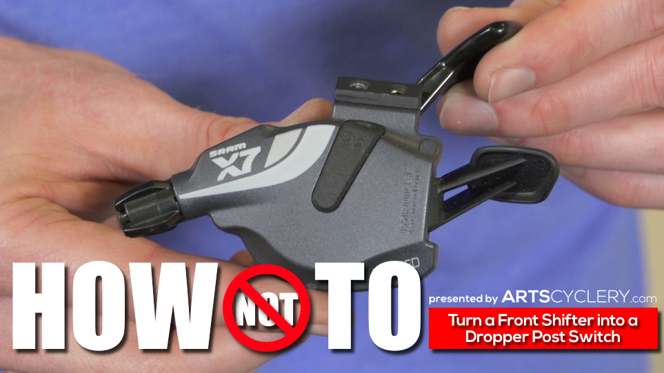 How to: Modify SRAM Left Shifters For Use as Dropper Post Switches