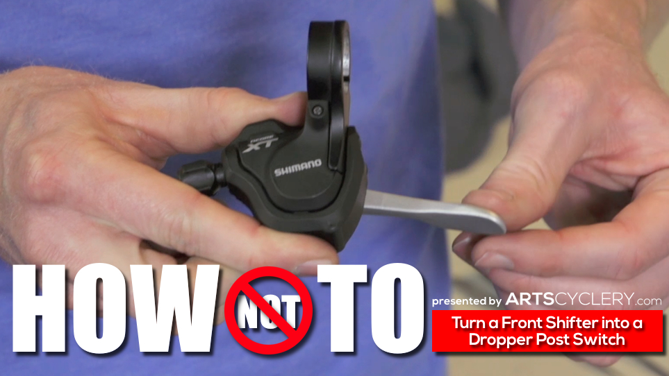 How to: Modify Shimano Left Shifters For Use as Dropper Post Switches