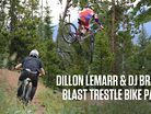 Dillon Lemarr & DJ Brandt at Trestle Bike Park