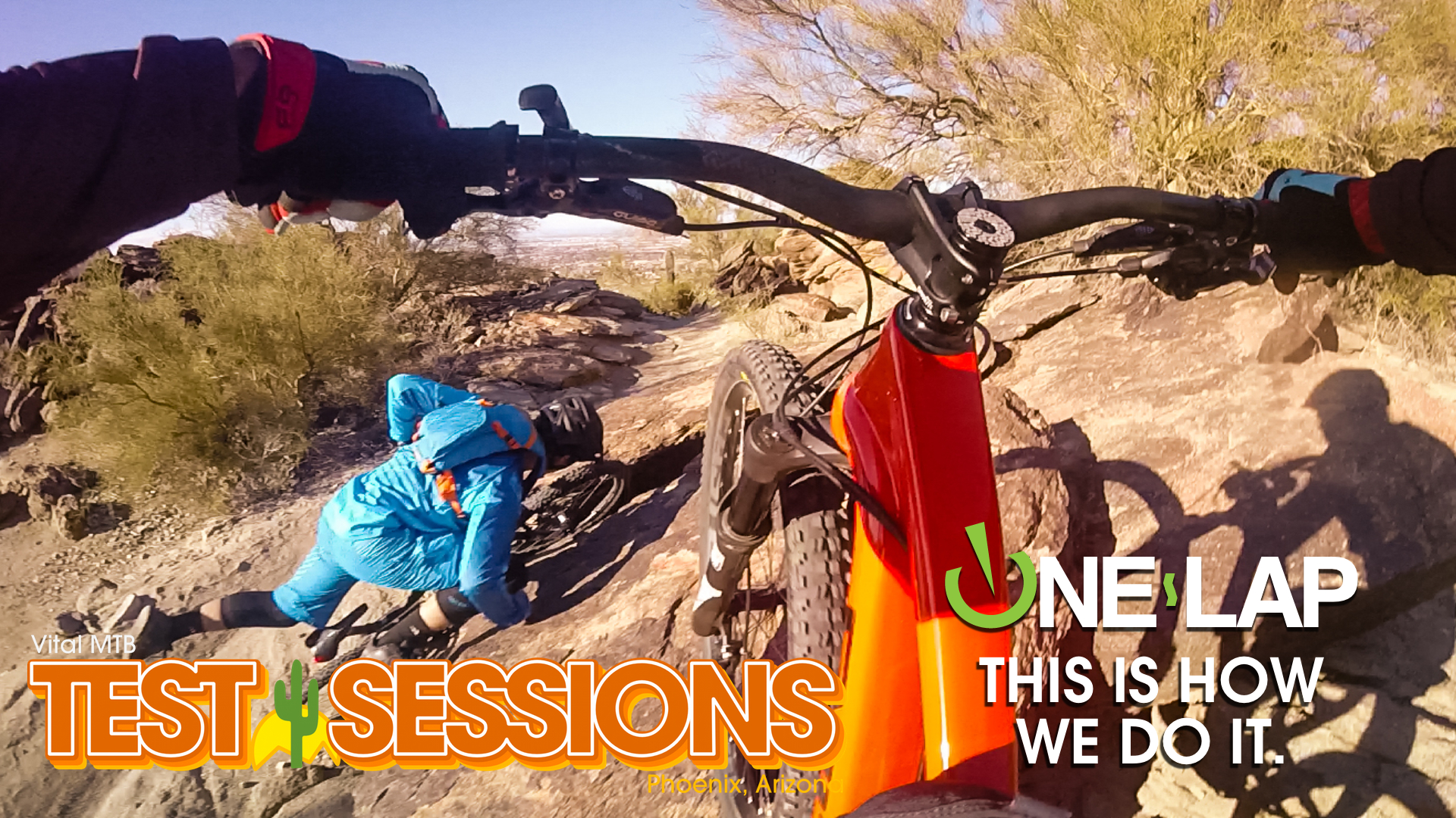 ONE LAP - Vital MTB Test Sessions Bike Abuse on Geronimo Trail