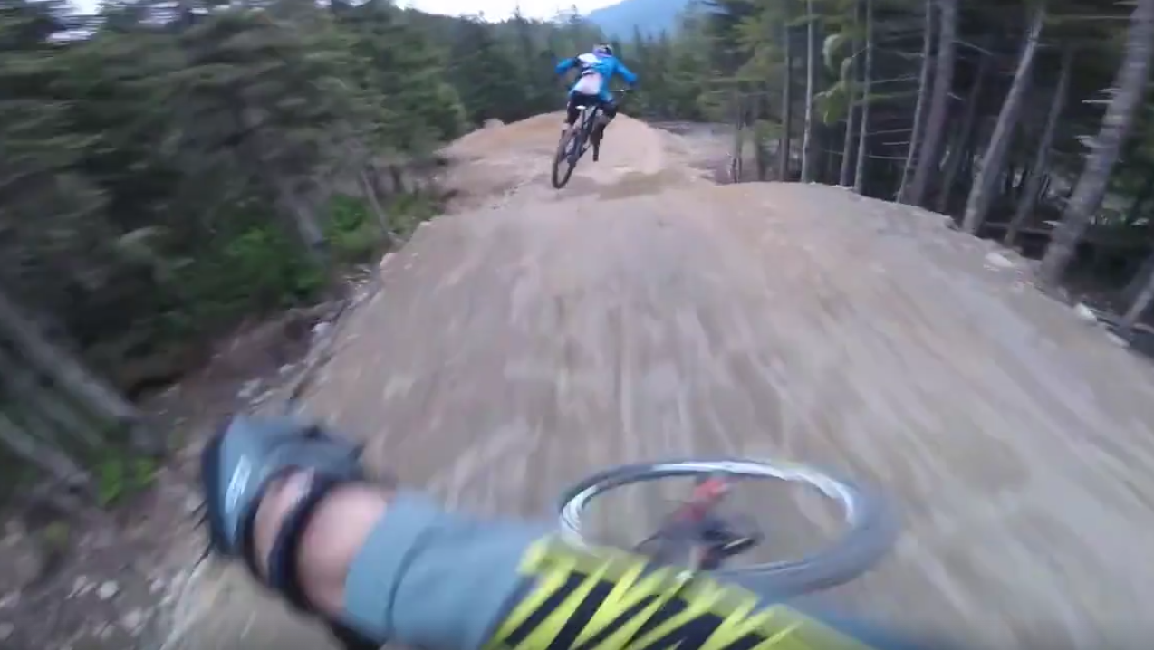 HELMET CAM - Remy Metailler and Yoann Barelli at Whistler