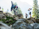 Troy Brosnan's OTB Crash in the Rocks at Lenzerheide