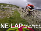 ONE LAP - EWS La Thuile Stage 2 with Iago Garay & Josh Lewis