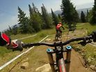 HELMET CAM - Mont Sainte Anne World Cup DH with Claudio and Mark Wallace