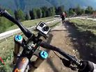 WORLD CHAMPS DH HELMET CAM - Claudio, Peaty and Warner