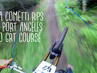 Luca Cometti Rips the Pro GRT Port Angeles DH Course