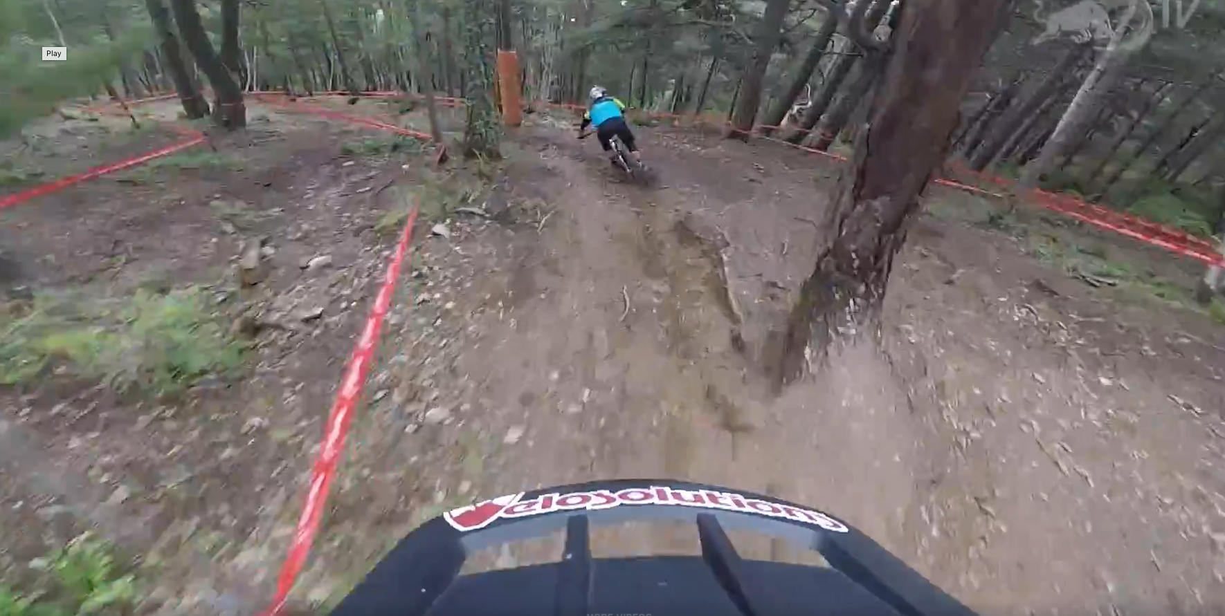 Claudio's Andorra World Cup DH Course Preview with Brook MacDonald