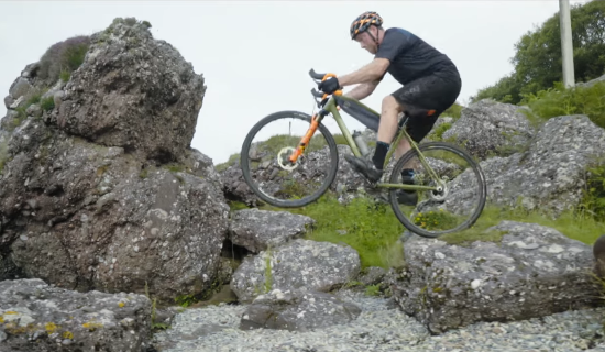 Even Chris Akrigg Riding Uphill is Epic