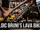 LOIC BRUNI'S NEW SPECIALIZED DEMO! The Lava Bike