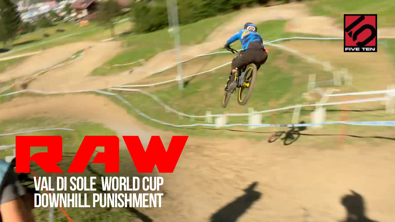 Pure DH Punishment! Vital RAW from Val di Sole