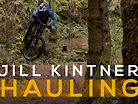 HAULING: Jill Kintner Rips Her Home Trails