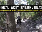 Totally Twisty Technical Trail Bike Treasure - ONE LAP Near Salt Lake