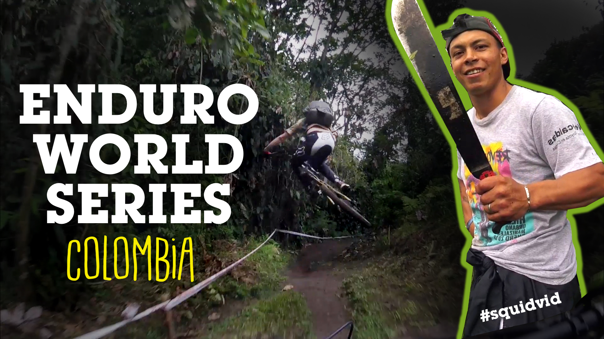 Sven Martin vs. Enduro World Series Colombia