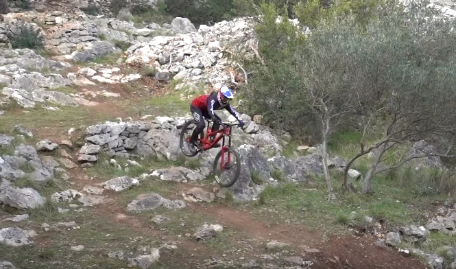 Flat Tires Upon Flat Tires - Losinj, Croatia World Cup DH Track with Vali Holl
