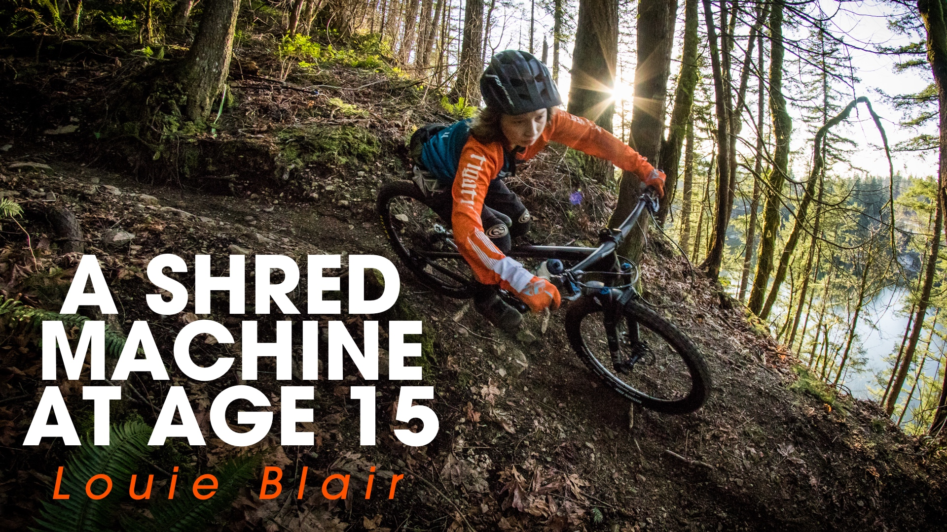 A Bike-Shredding Machine at Only 15! Louie Blair