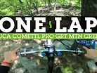ONE LAP - Pro GRT DH Course Preview with Luca Cometti