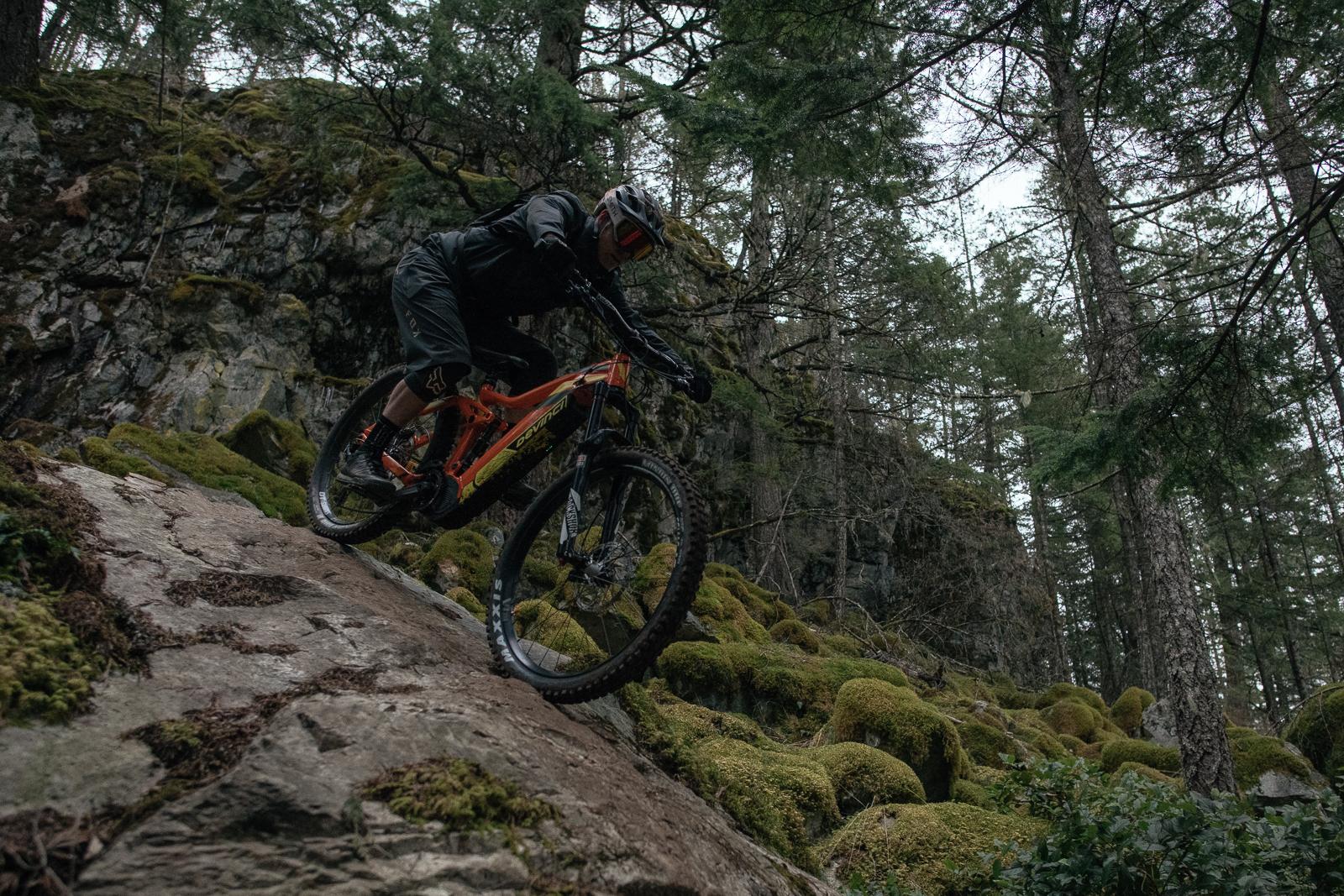 Kenny Smith, Gnar BC Shredding, Devinci's New e-Bike