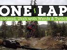 ONE LAP - Rock-Pinging Downhill MTB in Brianhead, Utah