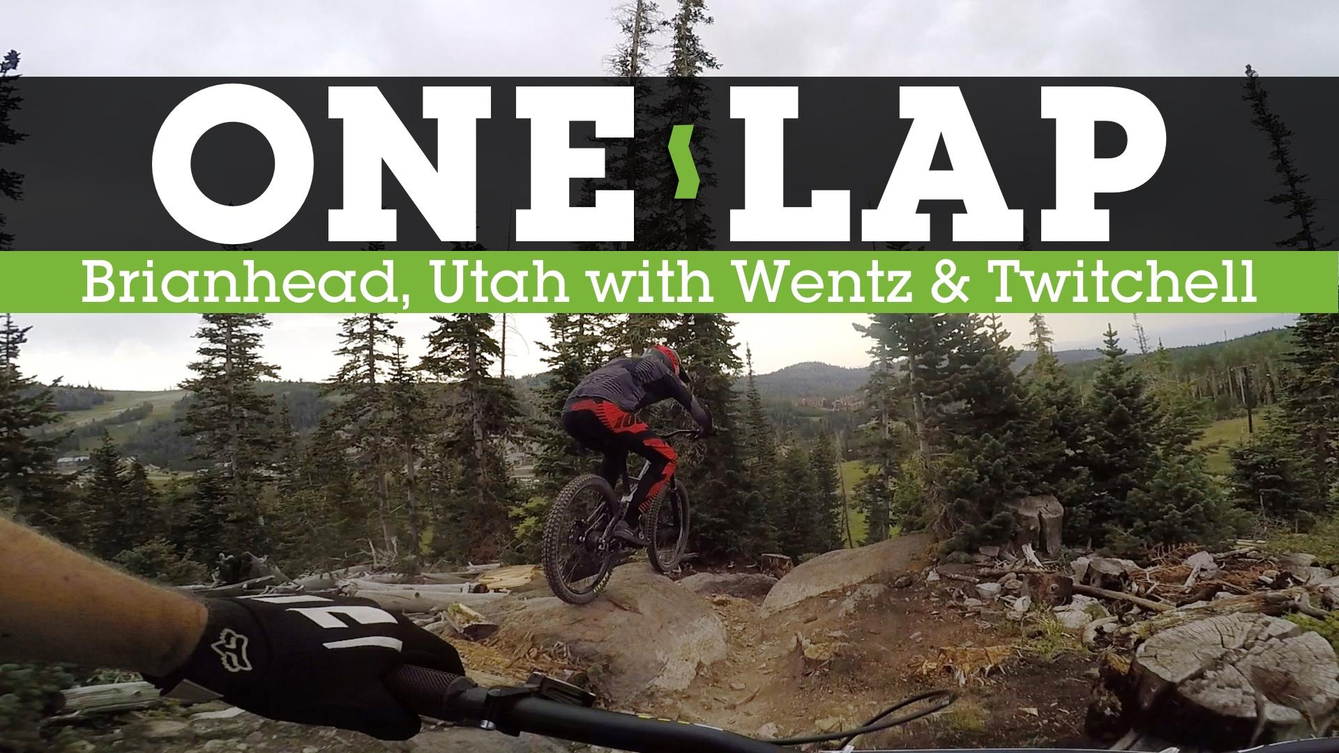 ONE LAP - Rock-Pinging Downhill MTB in Brianhead, Utah